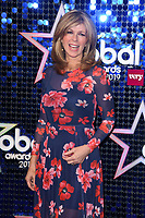 Kate Garaway<br /> arriving for the Global Awards 2019 at the Hammersmith Apollo, London<br /> <br /> ©Ash Knotek  D3486  07/03/2019