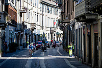 Mathias Norsgaard (DEN/Movistar) in the breakaway group<br /> <br /> 112th Milano-Sanremo 2021 (1.UWT)<br /> 1 day race from Milan to Sanremo (299km)<br /> <br /> ©kramon