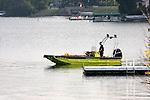 Hustiford dive rescue boat in Wisconsin