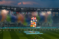 Fireworks are seen during the opening ceremony of the Uefa Euro 2020 european football championships before the match between Turkey and Italy at stadio Olimpico in Rome (Italy), June 11th, 2021. Photo Andrea Staccioli / Insidefoto