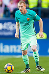 Jeremy Mathieu of FC Barcelona in action during their La Liga match between Atletico de Madrid and FC Barcelona at the Santiago Bernabeu Stadium on 26 February 2017 in Madrid, Spain. Photo by Diego Gonzalez Souto / Power Sport Images