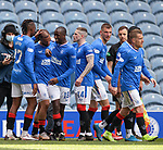 02.05.2121 Rangers v Celtic: All smiles as Kemar Roofe gets his second goal