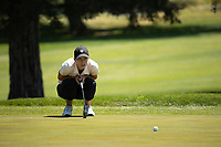 STANFORD, CA - APRIL 23: Alexandra Forsterling at Stanford Golf Course on April 23, 2021 in Stanford, California.