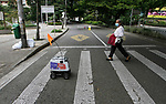 Colombia uses robots to deliver food due to COVID-19 quarantine