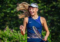 Hilversum, Netherlands, August 5, 2021, Tulip Tennis center, National Junior Tennis Championships 16 and 18 years, NJK, girls single 16 years, Joy de Zeeuw (NED)<br /> Photo: Tennisimages/Henk Koster