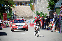 Tony Gallopin (FRA/Lotto-Soudal)<br /> <br /> stage 13 (ITT): Bourg-Saint-Andeol - Le Caverne de Pont (37.5km)<br /> 103rd Tour de France 2016