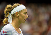 Moskou, Russia, Februari 4, 2016,  Fed Cup Russia-Netherlands, Kuznetsova reacts<br /> Photo: Tennisimages/Henk Koster