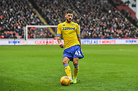 Leeds United's midfielder Mateusz Klich (43) during the Sky Bet Championship match between Sheff United and Leeds United at Bramall Lane, Sheffield, England on 1 December 2018. Photo by Stephen Buckley / PRiME Media Images.