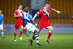 St Johnstone v Ross County...17.11.12      SPL.Gregory Tade and Scott Boyd..Picture by Graeme Hart..Copyright Perthshire Picture Agency.Tel: 01738 623350  Mobile: 07990 594431