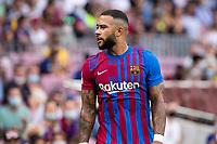 26th September 2021;   Nou Camp, Barcelona, Spain: La Liga football, FC Barcelona versus Levante: Memphis Depay Barcelona