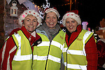 Mary McGeogh, Susan Donegan and Sandra McGrory at the Arrival of Santa and the turning on of the Christmas Lights in Dunleer...(Photo credit should read Jenny Matthews www.newsfile.ie)....This Picture has been sent you under the conditions enclosed by:.Newsfile Ltd..The Studio,.Millmount Abbey,.Drogheda,.Co Meath..Ireland..Tel: +353(0)41-9871240.Fax: +353(0)41-9871260.GSM: +353(0)86-2500958.email: pictures@newsfile.ie.www.newsfile.ie.
