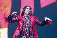The Struts performs on the main stage of the Festival d'ete de Quebec (FEQ) in Quebec city Thursday July 13, 2017.