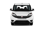 Car photography straight front view of a 2018 Fiat Doblo Street 5 Door MPV