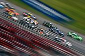 #17: Chris Buescher, Roush Fenway Racing, Ford Mustang Fastenal and #18: Kyle Busch, Joe Gibbs Racing, Toyota Camry Interstate Batteries