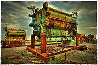 Industrial degeneration by Peter Wochniak