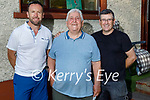 Richie Greer celebrating his 80th birthday at home in Connelly Park on Saturday.L to r: Richie Jr, Richie Sr and Mark Greer.