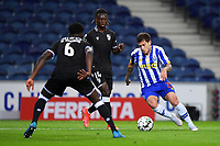 22nd April 2021; Dragao Stadium, Porto, Portugal; Portuguese Championship 2020/2021, FC Porto versus Vitoria de Guimaraes; Otavio of FC Porto goes past Gideon Mensah of Vitoria de Guimaraes