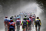Action from the Strade Bianche 2019 running 184km from Siena to Siena, held over the white gravel roads of Tuscany, Italy. 9th March 2019.<br /> Picture: LaPresse/Fabio Ferrari   Cyclefile<br /> <br /> <br /> All photos usage must carry mandatory copyright credit (© Cyclefile   LaPresse/Fabio Ferrari)