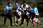 NELSON, NEW ZEALAND - July 9:15/17's South Island Rugby League Tournament. Possible v Probable on July 9, 2015 in Nelson, New Zealand. (Photo by: Chris Symes Shuttersport Limited)
