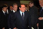 SILVIO BERLUSCONI CON ALFREDO ANTONIOZZI<br /> CAMPAGNA ELETTORALE DI ALFREDO ANTONIOZZI POPOLO DELLE LIBERTA' HOTEL ERGIFE ROMA 2008