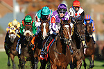 Joseph O'Brien smiles aboard St Nicholas Abbey as he Wins The Emirates Airline Breeders' Cup Turf (Grade 1) for his father (Trainer Aidan O'Brien) at Churchill Downs in Louisville, KY  on 11/05/11. (Ryan Lasek / Eclipse Sportwire)