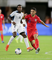 WASHINGTON, D.C. - OCTOBER 11: Cristian Roldan #15 of the United States moves with the ball during their Nations League game versus Cuba at Audi Field, on October 11, 2019 in Washington D.C.
