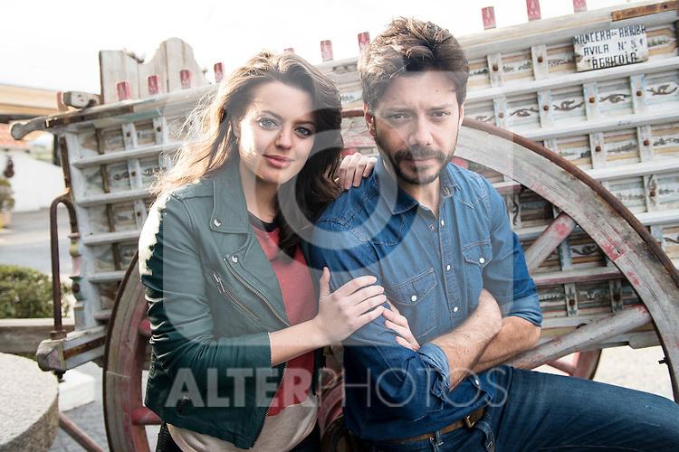 "Adriana Torrebejano and Alvaro Morte at lunch on the 5th anniversary of "" El secreto de Puente Viejo"" series  in Madrid, February 18, 2016<br /> (ALTERPHOTOS/BorjaB.Hojas)"