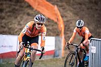 Lucinda Brand (NED)<br /> <br /> Women's Elite Race<br /> UCI 2020 Cyclocross World Championships<br /> Dübendorf / Switzerland<br /> <br /> ©kramon