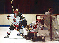 Randy Boyd Paul Minaker Ottawa 67's 1979. Photo Scott Grant