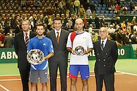 25-2-07,Tennis,Netherlands,Rotterdam,ABNAMROWTT, Ivan Ljubicic   Mikhail Youzhny during pricegiving