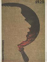 1929. Kollektivizatsiia; 1929. Collectivization<br /> Perestroika Era Poster series, circa 1980-1989
