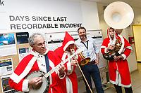 2017 12 13 Christmas Band, Wales, UK