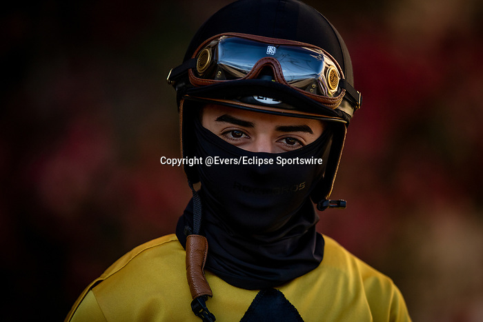AUG 07: Jean C Diaz at Del Mar Thoroughbred Club in Del Mar, California on August 07, 2020. Evers/Eclipse Sportswire/CSM