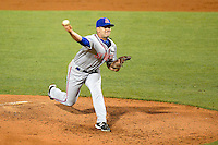 St. Lucie Mets pitcher Chasen Bradford #29 during a game against the Bradenton Marauders on April 12, 2013 at McKechnie Field in Bradenton, Florida.  St. Lucie defeated Bradenton 6-5 in 12 innings.  (Mike Janes/Four Seam Images)