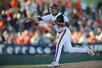 Jonathan Meyer (Pitcher) Clemson Tigers (Photo by Tony Farlow/Four Seam Images)