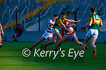 Dylan Geaney Kerry goes past  Cork's  keeper Gavin Creedon and  Colm O'Donovan to score his goal during the U20 MFC game in Pairc Uí Caoimh last Thursday evening