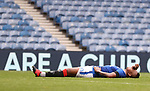 25.07.2020 Rangers v Coventry City: Alfredo Morelos reacts after narrowly missing
