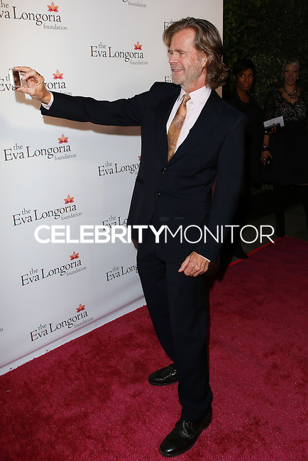 HOLLYWOOD, LOS ANGELES, CA, USA - OCTOBER 09: William H. Macy arrives at the Eva Longoria Foundation Dinner held at Beso Restaurant on October 9, 2014 in Hollywood, Los Angeles, California, United States. (Photo by David Acosta/Celebrity Monitor)
