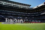 Players Real Madrid Granada CF during La Liga match between Real Madrid and Granada CF at Santiago Bernabeu Stadium in Madrid, Spain. October 05, 2019. (ALTERPHOTOS/A. Perez Meca)