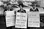 WOMENS EQUAL RIGHTS RALLY LONDON 1960S