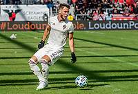 WASHINGTON, DC - FEBRUARY 29: Keegan Rosenberry #2 of the Colorado Rapids on the attack during a game between Colorado Rapids and D.C. United at Audi Field on February 29, 2020 in Washington, DC.