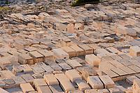 Asie/Israël/Judée/Jérusalem: Cimetière juif du mont des Oliviers à Jérusalem