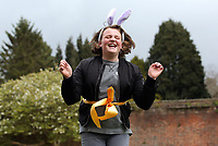 Pictured: Good Friday 14 April 2017<br /> Re: Easter activities and events at Tredegar House near Newport, Wales, UK.
