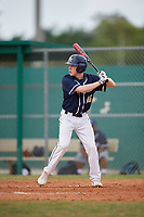 Bethel Wildcats left fielder Thomas Friesen (16) during the first game of a double header against the Edgewood Eagles on March 15, 2019 at Terry Park in Fort Myers, Florida.  Bethel defeated Edgewood 6-0.  (Mike Janes/Four Seam Images)
