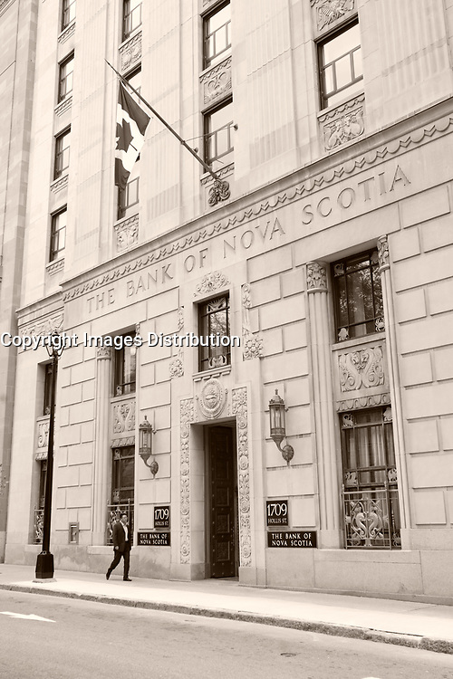 Halifax (NS) CANADA, June 1, 2007 -<br /> <br /> Bank of Nova scotia Building<br /> <br />     photo by Pierre Roussel - Images Distribution
