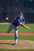 Texas Rangers pitcher Chris Dula (67) during an instructional league game against the San Diego Padres on October 9, 2015 at the Surprise Stadium Training Complex in Surprise, Arizona.  (Mike Janes/Four Seam Images)