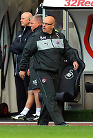 Saturday, 06 October 2012<br /> Pictured: Brian McDermott manager for Reading<br /> Re: Barclays Premier League, Swansea City FC v Reading at the Liberty Stadium, south Wales.