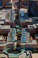 aerial photograph City Centre Shopping Mall, Salt Lake City, Utah