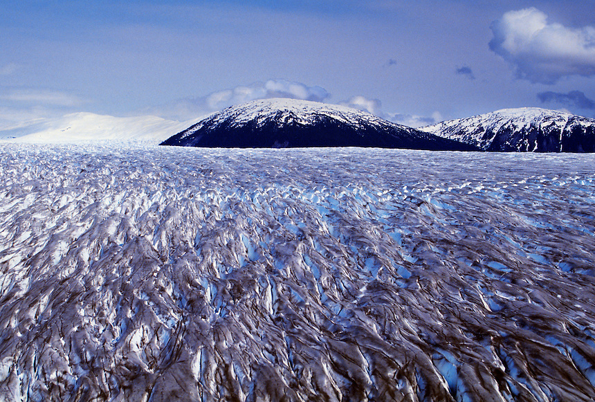 Ice field, Alaska