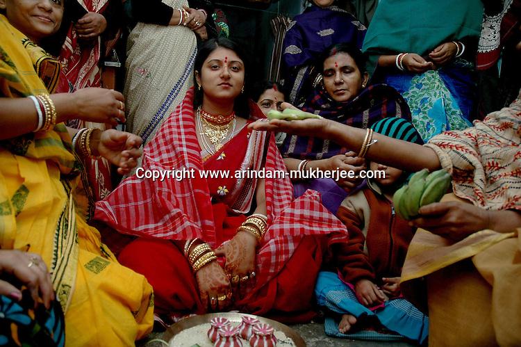 A bengali bride in Calcutta